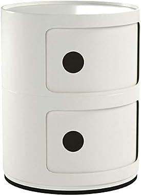 Kartell 496603 Componibili Meuble de rangement Blanc