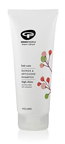 Green People - Champú de quinoa y alcachofa, 200 ml