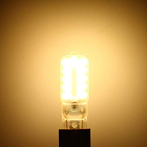 Lampadine a incandescenza Lampadina a LED G9 Lampadina a LED mini 5W Lampadina aluce di inondazionedimmerabile 220V@ warm_light