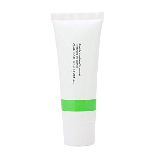 Facial hidratante gel de aloe vera, aloe para después del sol crema, calmar rápidamente en la piel, reducir el daño UV, reponer la humedad de la piel, reducir poros de la piel y aliviar la piel seca