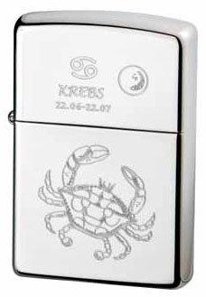 Zippo briquet collection zodiac cancer