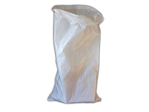 (10 Stück) 60 x 110 cm, PP mit PE Gewebesäcke Polypropylen Beutel 130g mit Kunststoffinnenverpackung Verpackung Abfall Entsorgung PE
