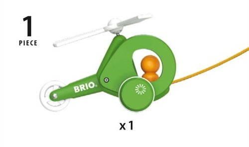 BRIO(ブリオ)『プルトイヘリコプター』