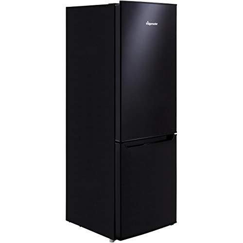 Fridgemaster 165 Litre 60/40 Freestanding Fridge Freezer - Black