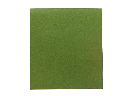 【伊勢型紙】色柿渋紙(型地紙) 色紙判 緑