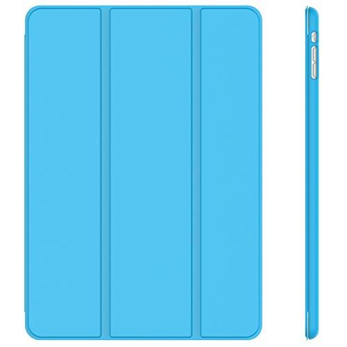 JETech Hülle Kompatibel iPad Mini 1 2 3, Schutzhülle mit Ständer Funktion & Auto Einschlafen/Aufwachen (Blau)