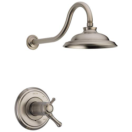 Delta Faucet T17T297-SS-WE Cassidy TempAssure 17T Series Trim Shower Only, Stainless