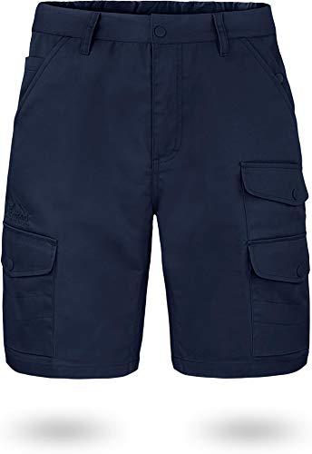 normani Outdoor Sports US BDU Herren Shorts Kebili Kurze Sommerhose mit Cargotaschen (S bis 7XL) Farbe Navy Größe 4XL/60