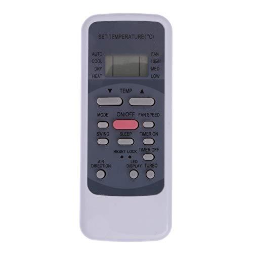 CROSYO Control Remoto for R51 / BGE Aire Acondicionado portátil Midea Split Control Remoto for R51M / E R51 / E R51 / CE R51M / CE R51D / E R51M / BGE