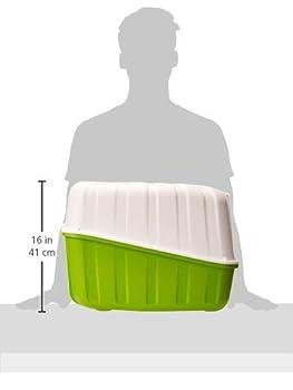 Stefanplast Komoda Maison de Toilette pour Chat Coloris Aleatoire 54 x 39 x 40 cm