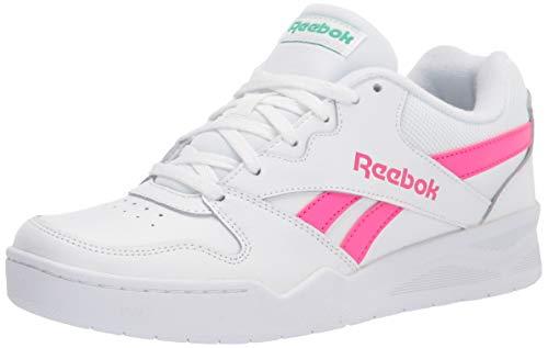 Reebok Royal Bb4500 Low2 - Zapatillas deportivas para mujer, (Blanco/Rosa Orgullo/Verde Court), 37 EU