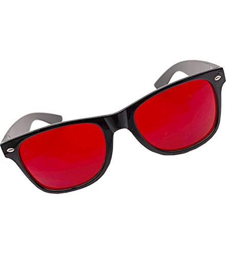 YHYABC Rouge Colorblind Lunettes pour Enfants Hommes - Lunette Daltonien Homme pour Aveugle de Couleur Rouge/Vert -...