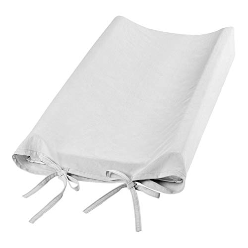 Tvättbar, Baby skötbäddsöverdrag Baby skötplattans lock, för att göra baby massage Baby skötbäddsöverdrag(gray)