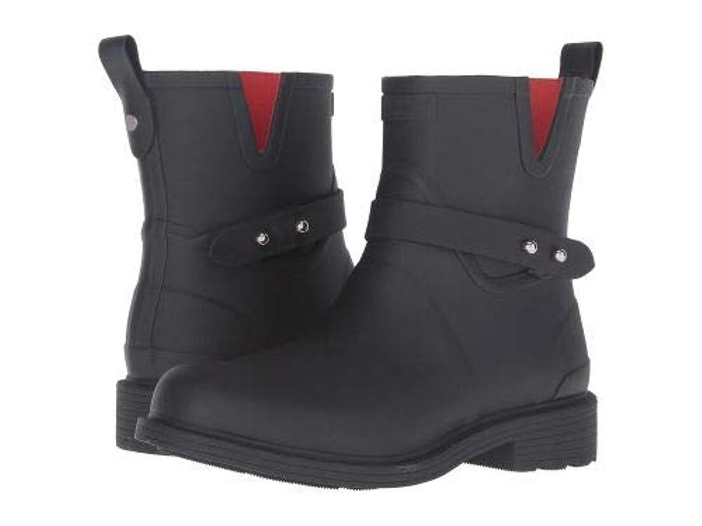 第九抑圧する試用rag & bone(ラグアンドボーン) レディース 女性用 シューズ 靴 ブーツ レインブーツ Moto Rain Boot - Black [並行輸入品]