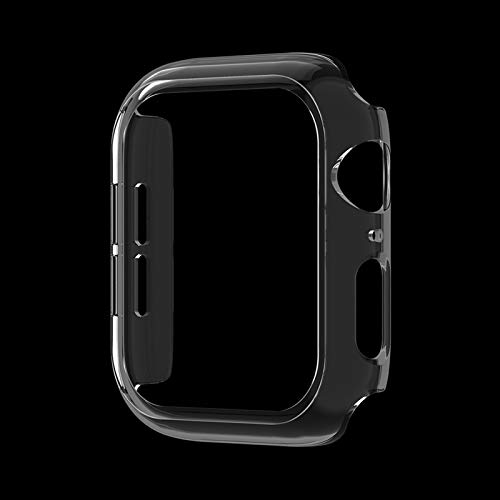 ZAALFC Carcasa rígida para Apple Watch SE Serie 6, 5, 4 y 3 (40 mm, 44 mm, 38 mm, 42 mm), color transparente