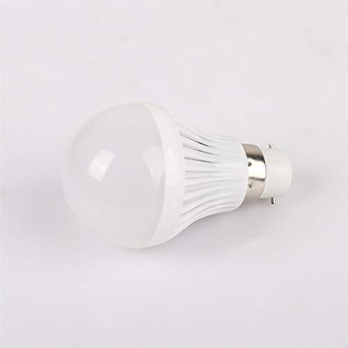 Kitechildhssd 8 X 5W GLS Lámpara LED Bombillas BC B22 Casquillo de Bayoneta Blanco de día Equivalente de 50 vatios