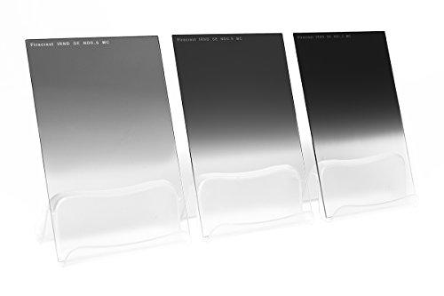 Formatt Hitech FC67NDGKit4 67x85 mm (2,64 x 3,35 Pulgadas) Firecrest Neutra Kit de Densidad Grado SE de 3 filtros de 2 a 4-Parada