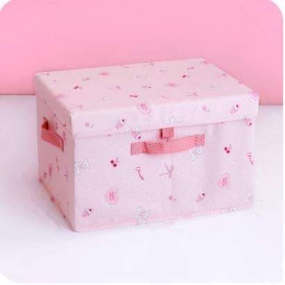 BBGSFDC Caja de almacenamiento de tela con forma de corazón para dormitorio original plegable ropa colcha acabado caja de juguetes para niños cesta de almacenamiento