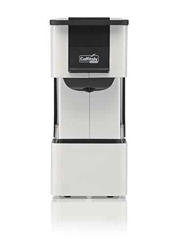 Caffitaly System Macchina da caffè Iris S27 (Bianco) + Kit 50 Capsule Incluse