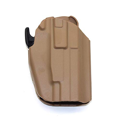 BGJ Pistolera táctica 579 GLS Pro-Fit Holster Universal Airsoft Hunting Pouch para Walther PPQ M2 9/40 HK45 BERETTA92F Glock 17 19
