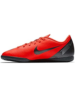 Nike CR7 Jr. VaporX 12 Club (IC) Kids' Indoor Soccer Shoes (4.5)