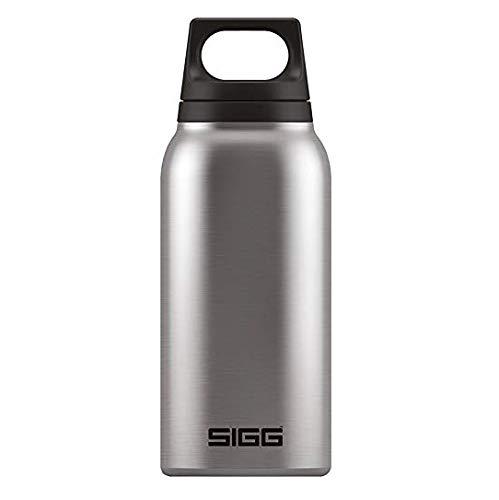 SIGG Hot & Cold Brushed Thermo Trinkflasche (1 L), schadstofffreie und isolierte Trinkflasche, auslaufsichere Thermo-Flasche aus Edelstahl