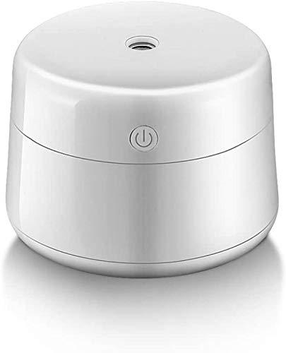 Mini tragbare Ultraschall-Luftbefeuchter Wasserzähler Büro Schlafzimmer mute Kleinwagen Luftbefeuchter,White