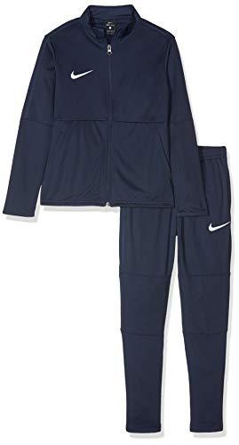 Nike Kinder Dry Park 18 Trainingsanzug, Blau (Obsidian/White/451), Gr. S