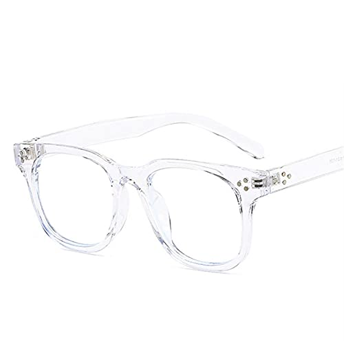 ShSnnwrl Gafas Sol De Hombre Mujer Polarizadas Sunglasses Montura De Gafas Anti Luz Azul para Mujer Y Hombre, Gafas De Ordenador A La Moda