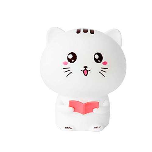 huichang Lampe mode chat maison lampe de chat mignon - enregistrement USB lampe de chevet...