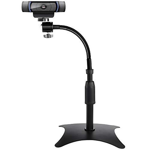 OXENDURE Soporte para cámara y Webcam con Base antivuelco ponderada,para cámara Web...