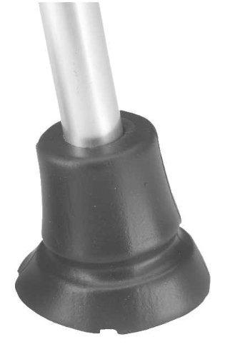 Krückenkapsel Antirutsch Gummipuffer Gehhilfenfuß passend für Gehstützen Gehstöcke mit Rohrdurchmesser von 16 - 17,5 mm by activera