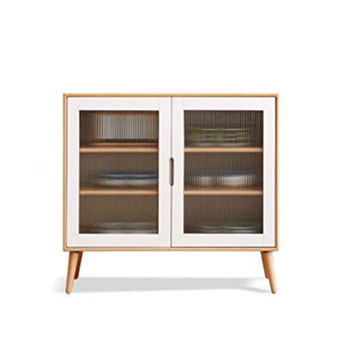 EXCLVEA Sideboard Sideboard Modern Minimalistische Europäische Buchenholz Tee Kabinett Nordic Wirtschaftlicher...