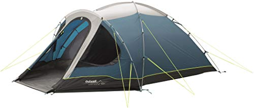 Outwell Cloud 4, Tenda a palo Unisex-Adulto, Blu, 4-Person