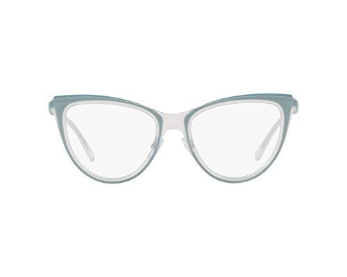 Emporio Armani 0EA1074 Monturas de Gafas, Matte Transparente Crystal, 53 para Mujer