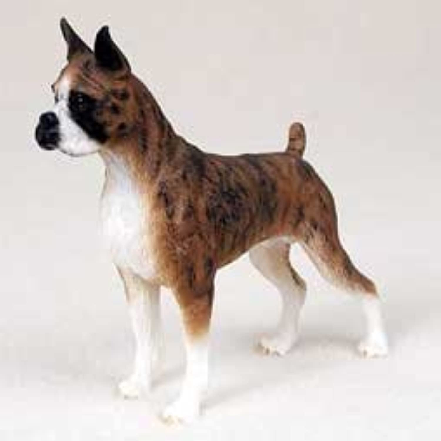 Boxer, Brindle Original Dog Figurine (4in-5in) by Conversation Concepts