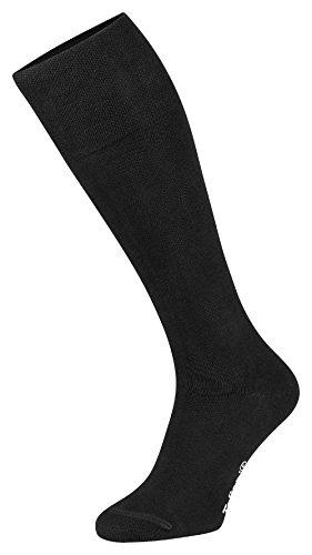 Tobeni - Chaussettes hautes - Femme Noir Taille 35-38