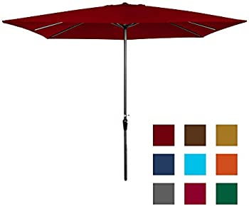 Best Choice 8x11ft Rectangular Patio Market Umbrella
