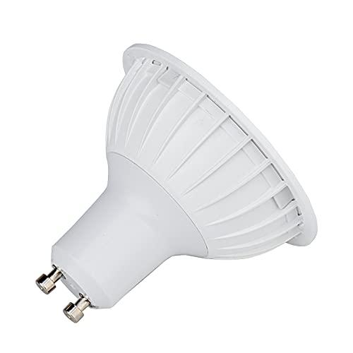 Base GU10 de la bombilla LED de AR70 LED regulable, entrada AC 220V, 8W 750LM, adecuada para la iluminación de hogares, reemplace la lámpara halógena de 50W (Cold white)