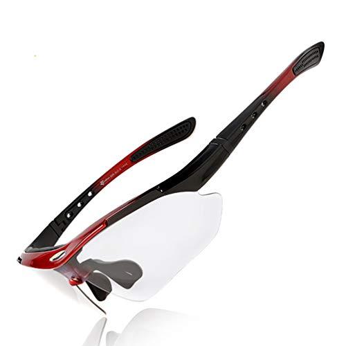 ROCKBROS Bike Sunglasses Men's Photochromic Running Sunglasses UV Protection