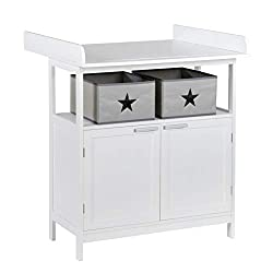 best baby changing table - nursery