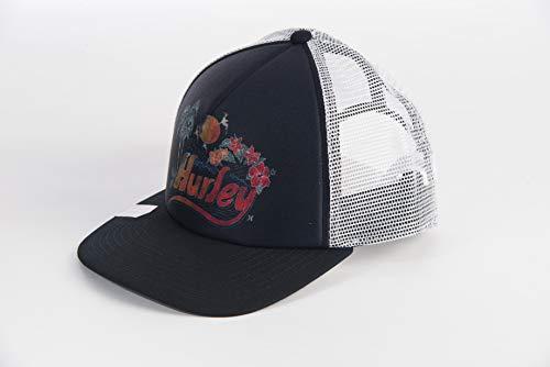 Hurley E Retro Beach Trucker Hat Gorra, Mujer, Black, 1SIZE