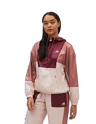 New Balance Women's Standard Athletics Higher Learning Anorak, Washed Henna, X-Large