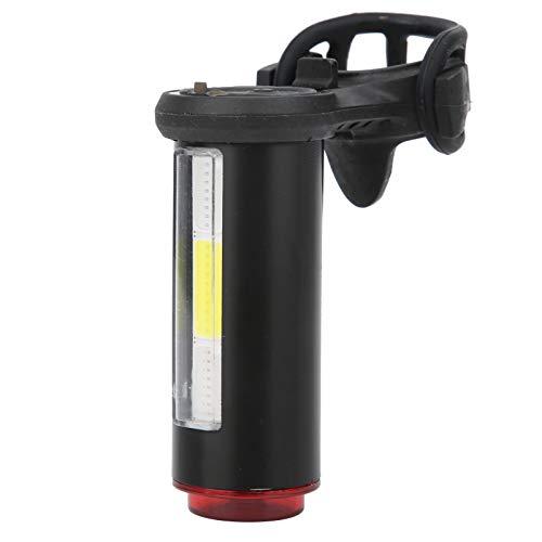 SALUTUYA Chip de luz Luz de Advertencia de 360 Grados Inferior Diseño Luz Trasera de Bicicleta Luz Trasera de Bicicleta, para Equipo de Ciclismo Luz Trasera Recargable por USB