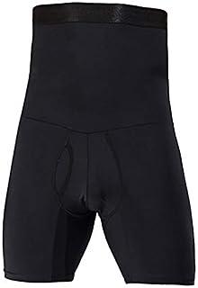 Men's Body Shaper Tummy Control Slimming Shapewear Shorts High Waist bdomen T Boxer Brief Stretch Pants Underwear Body Sha...