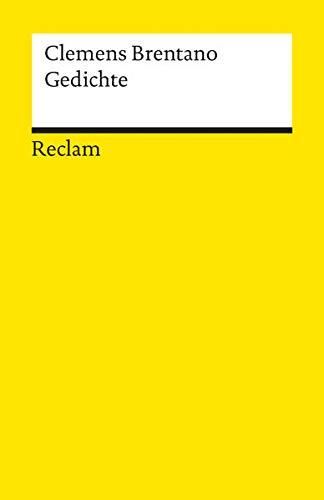Clemens Brentano: Gedichte