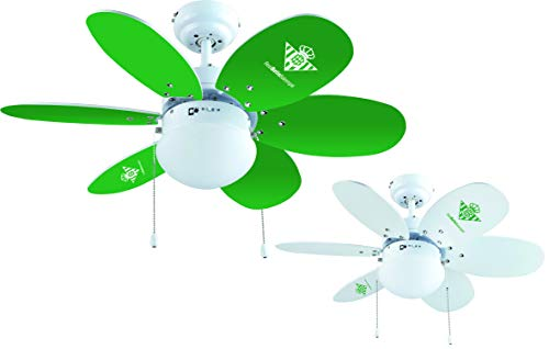Comprar ventilador de techo verde