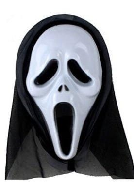 Máscara Scream de plástico
