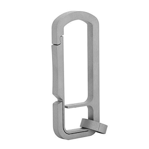 DAUERHAFT Langlebige Schlüsselanhänger Schnalle Schlüsselringe Metall für Jungen & Mädchen