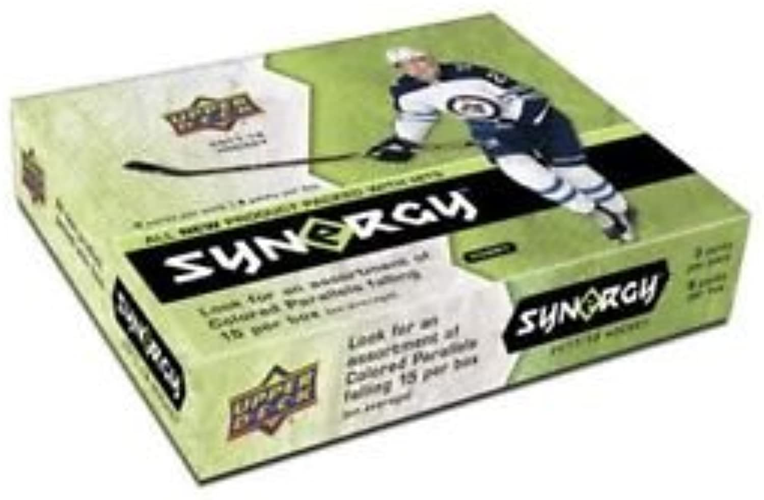201718 Upper Deck Synergy Sealed Box NHL Hockey Box ( 8 Packs per Box )